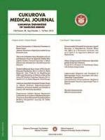 Cukurova Medical Journal